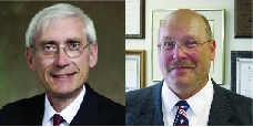 Evers, Holtz differ on Act 10, Walker's budget at WisPolitics.com forum
