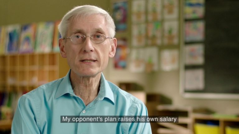 Evers knocks Holtz in first TV ads of the campaign