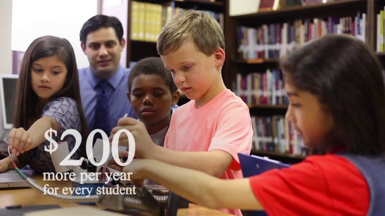"""Walker campaign: 30-second TV ad, """"Students First"""""""