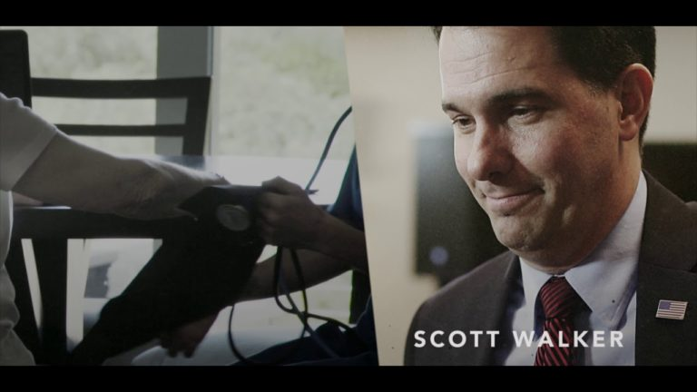 A Stronger Wisconsin out with new TV ad knocking Walker on health care