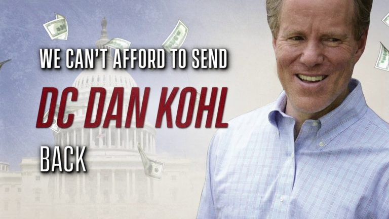 Glenn Grothman releases new ad claiming Dan Kohl would double income taxes