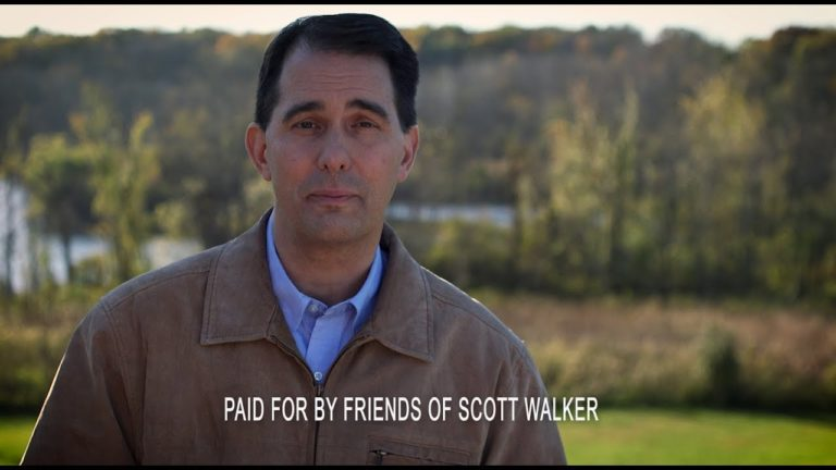 Walker asks voters in latest TV ad to 'finish what we started'