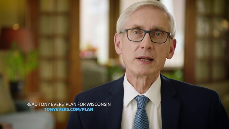 Evers launches final TV ads, declares 'I'll put you first'