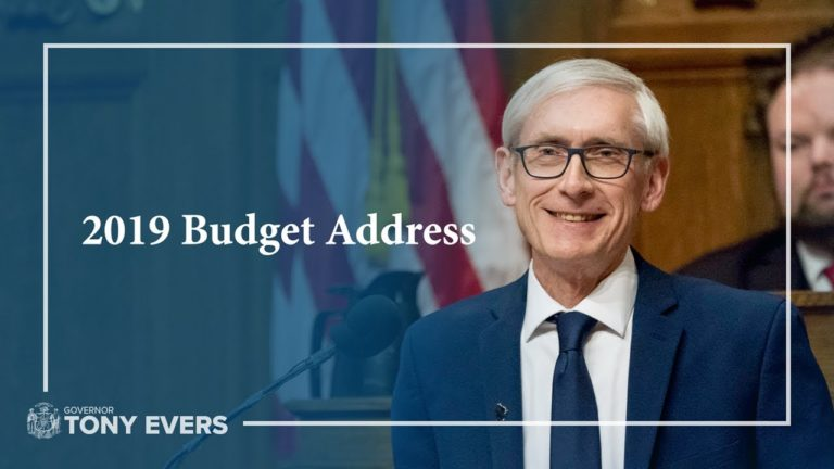 Evers proposes 8-cent gas tax hike as budget checks off string of Dem priorities