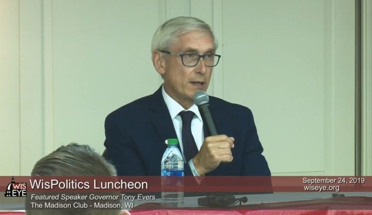 Evers casts doubt on Fitzgerald's call for new tax cuts