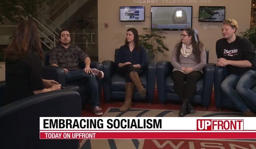 'UpFront': Student panel discusses increasing support for socialism among young people | WisPolitics.com