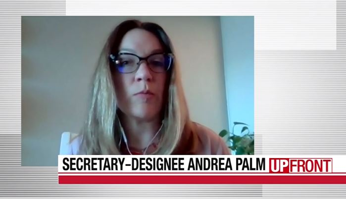 Palm on 'UpFront' says COVID-19 cases will rise as people interact more | WisPolitics.com